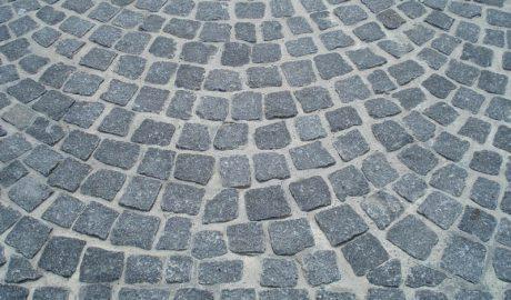 pave granit 140 anthracite brut Chatel'granulats