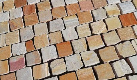 Pavé Granit Gris Jaune Chatel'granulats