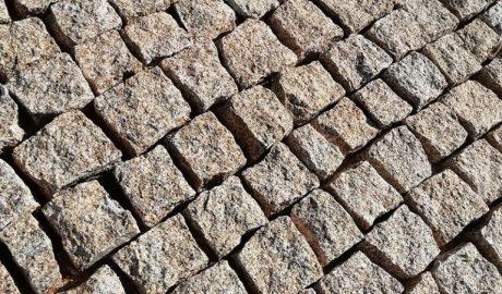 Pavé Granit Jaune Chatel'Granulats